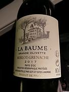La Baume Grande Olivette Merlot Grenache(2017)
