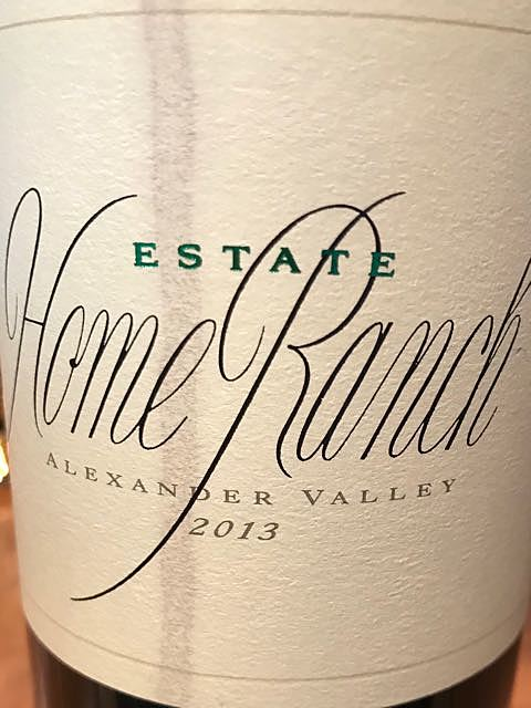 Sbragia Home Ranch Zinfandel Alexander Valley(スブラジア ホーム・ランチ ジンファンデル アレキサンダー・ヴァレー)