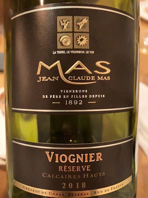 Jean Claude Mas Viognier Réserve