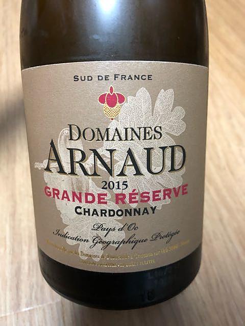 Dom. Arnaud Grande Réserve Chardonnay(ドメーヌ・アルノー グラン・レゼルヴ シャルドネ)