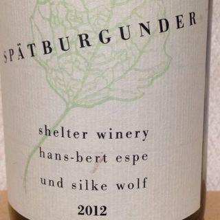 Shelter Winery Spätburgunder