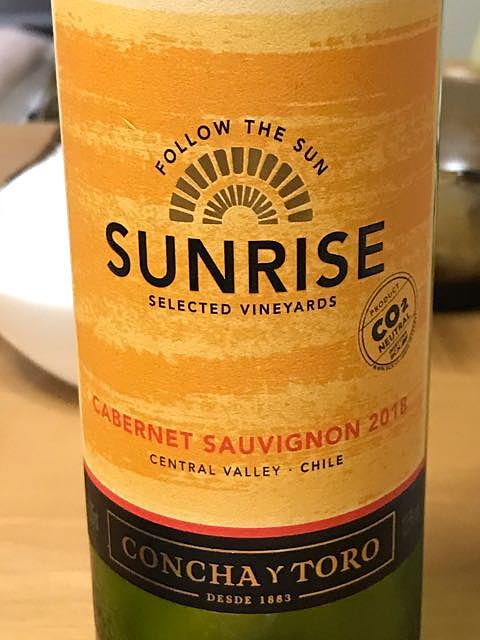 Sunrise Cabernet Sauvignon(サンライズ カベルネ・ソーヴィニヨン)