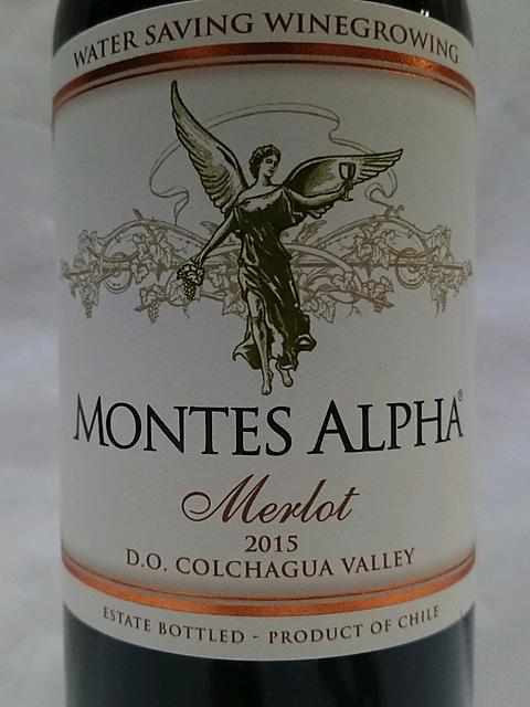 Montes Alpha Merlot(モンテス・アルファ メルロー)