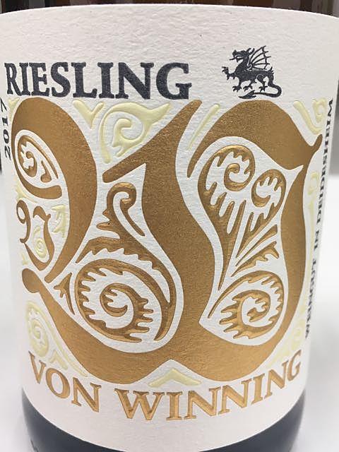 Von Winning Riesling trocken(フォン・ウィニング リースリング トロッケン)