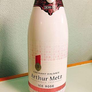 Arthur Metz Crémant d'Alsace Ice Rose(アルトゥール・メッツ クレマン・ダルザス アイス ロゼ)