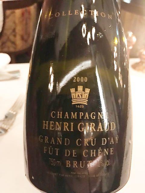 Henri Giraud Aÿ Grand Cru Fût de Chêne Brut G Collection