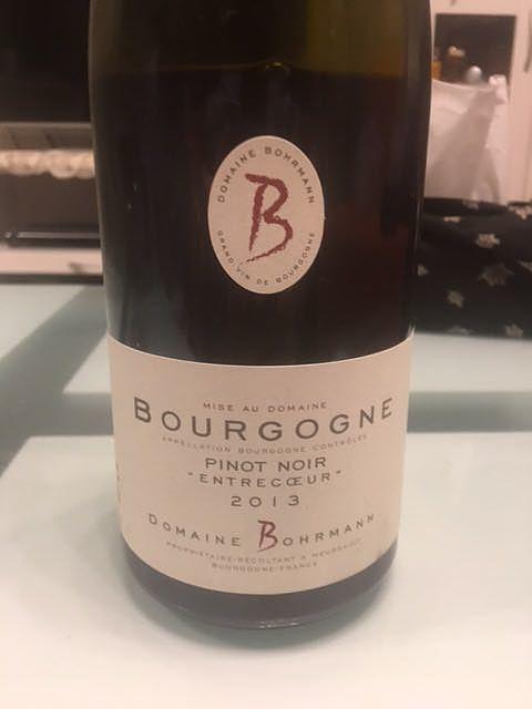 Dom. Bohrmann Bourgogne Pinot Noir Entrecoeur