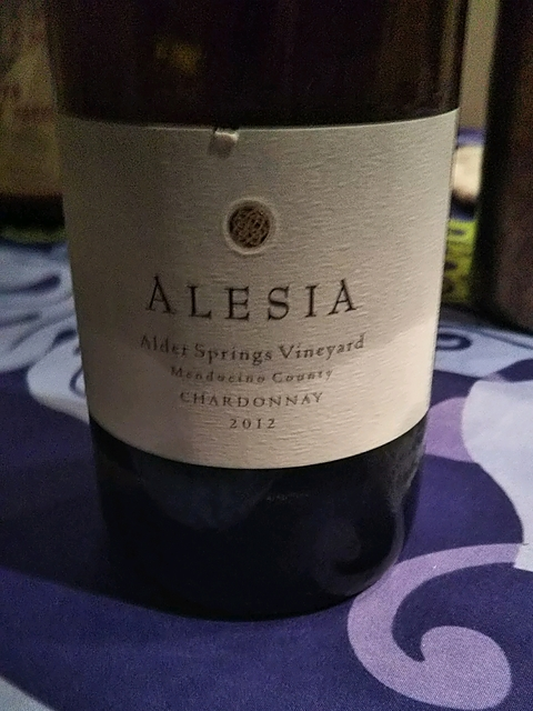 Rhys Vineyards Alesia Alder Springs Vineyard Chardonnay