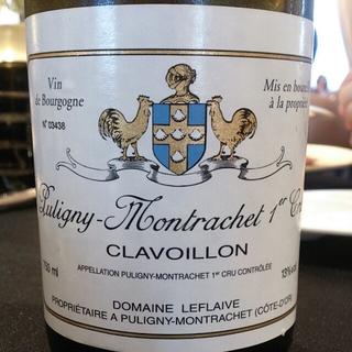 Dom. Leflaive Puligny Montrachet 1er Cru Clavoillon