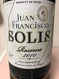 Juan Francisco Solis Reserva