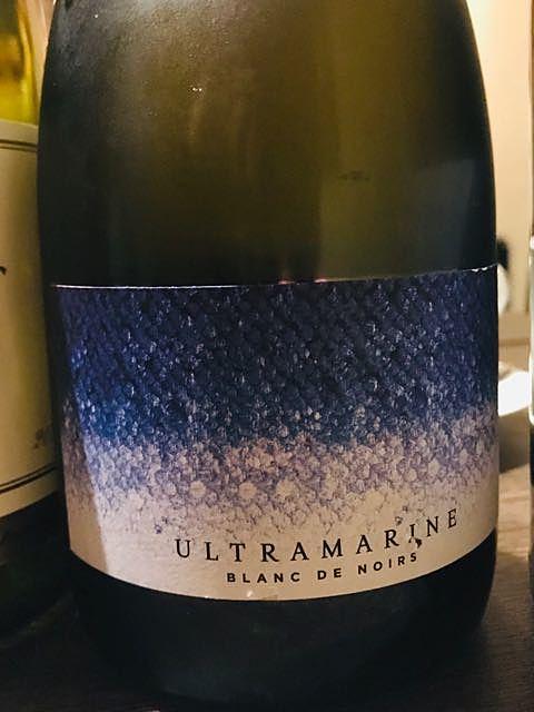 Ultramarine Sparkling Blanc de Noirs(ウルトラマリン スパークリング ブラン・ド・ノワール)