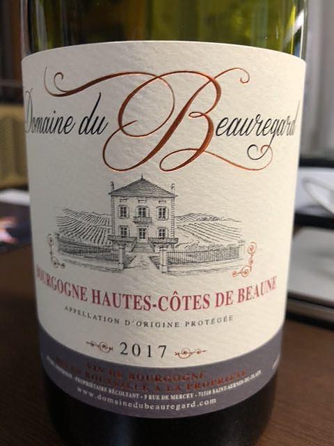 Dom. du Beauregard Bourgogne Pinot Noir(ドメーヌ・デュ・ボールガール ブルゴーニュ ピノ・ノワール)