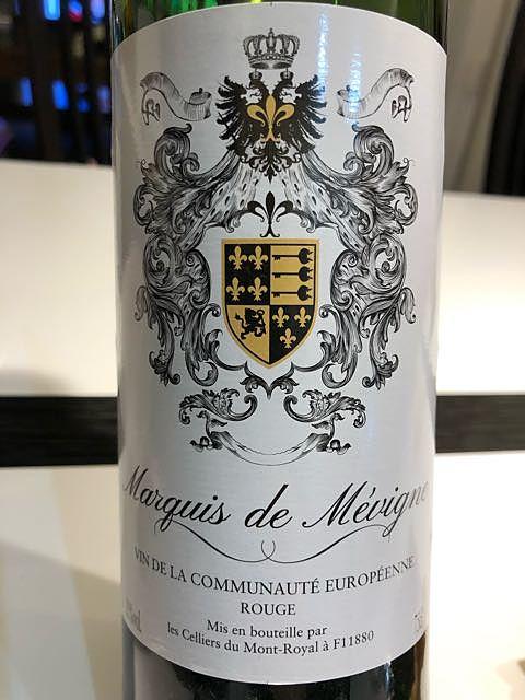 Marquis de Mévigne Rouge