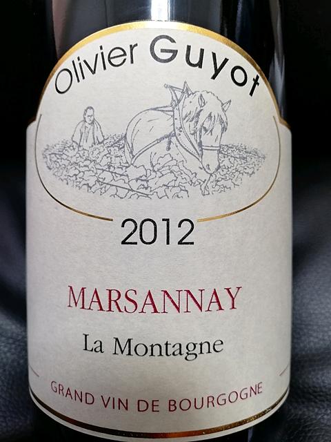 Olivier Guyot Marsannay La Montagne