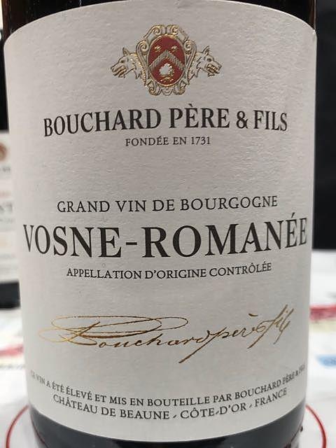 Bouchard Père & Fils Vosne Romanée