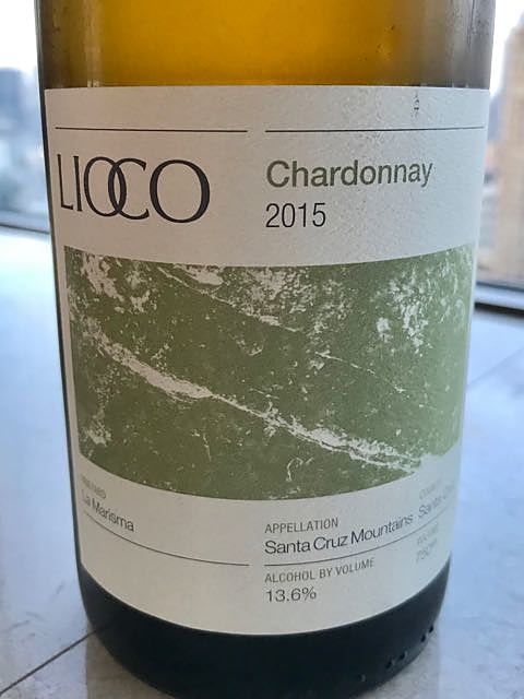 Lioco La Marisma Chardonnay Santa Cruz Mountains(リオコ ラ・マリスマ シャルドネ サンタ・クルーズ・マウンテン)