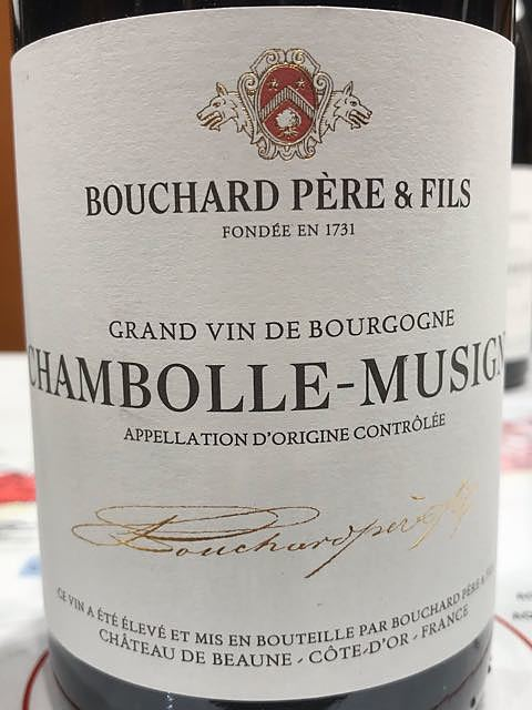 Bouchard Père & Fils Chambolle Musigny