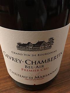 Ch. de Marsannay Gevrey Chambertin 1er Cru Bel Air