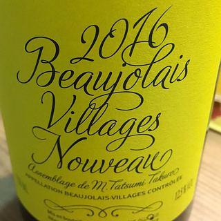 Aujoux Beaujolais Villages Nouveau Cuvée Tatsumi