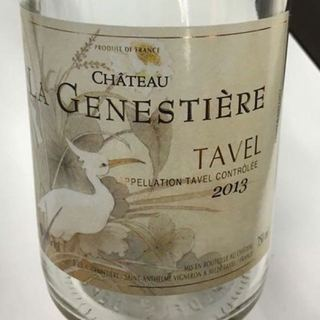 Dom. la Genestiere Tavel(ドメーヌ・ラ・ジェネシュティア タヴェル)