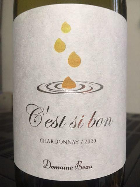 Dom. Beau C'est si bon Chardonnay(ドメーヌ・ボー セシボン シャルドネ)