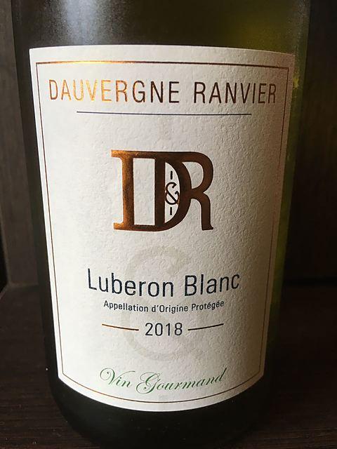 Dauvergne Ranvier Luberon Vin Gourmand Blanc(ドーヴェルニュ・ランヴィエ リュベロン ヴァン・グルマン ブラン)