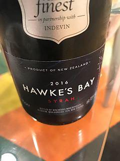Tesco Finest Hawke's Bay Syrah(テスコ・ファイネスト ホークス・ベイ シラー)
