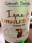 Inazio Urruzola Txakolina(2014)