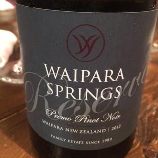Waipara Springs Premo Pinot Noir Reserve