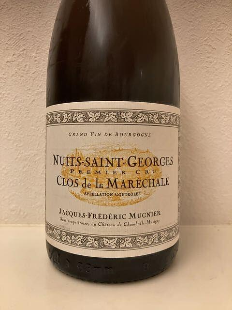 Jacques Frédéric Mugnier Nuits Saint Georges 1er Cru Clos de la Maréchale Rouge(フレデリック・ミュニエ ニュイ・サン・ジョルジュ プルミエ・クリュ クロ・ド・ラ・マレシャル ルージュ)