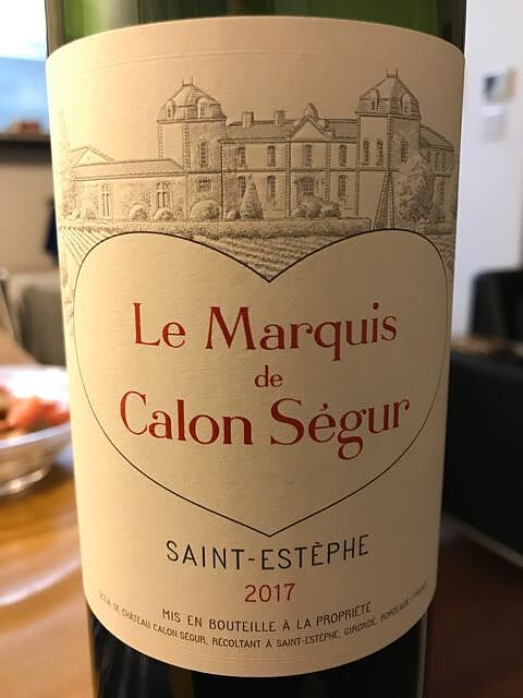 Le Marquis de Calon Ségur(ル・マルキ・ド・カロン・セギュール)