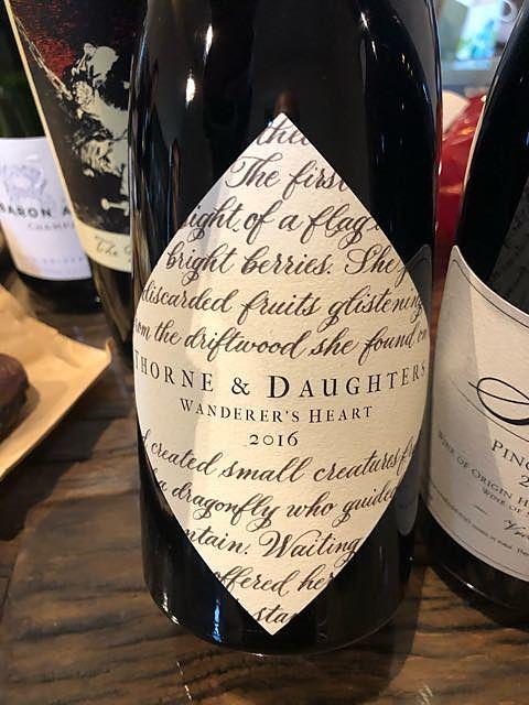 Thorne & Daughters Wanderer's Heart 2016