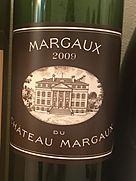 マルゴー・デュ・シャトー・マルゴー(2009)