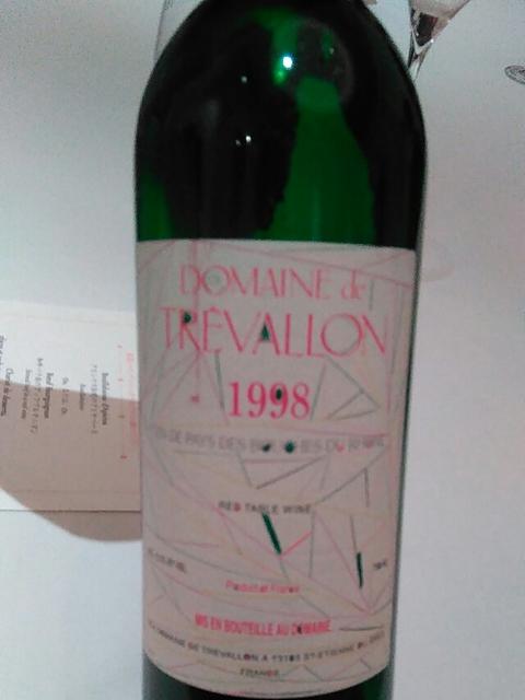 Dom. de Trévallon Rouge 1998