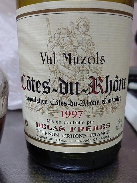 Delas Côtes du Rhône Val Muzols(ドゥラス コート・デュ・ローヌ ヴァル・ミュゾル)