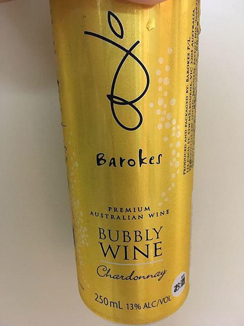 Barokes Bubbly Chardonnay(バロークス バブリー シャルドネ)