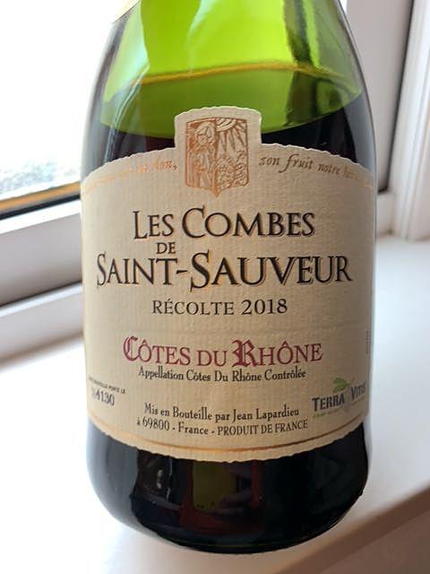 Les Combes de Saint Sauveur Côtes du Rhône Rouge(ル・コンブ・サン・ソヴァール コード・デュ・ローヌ ルージュ)