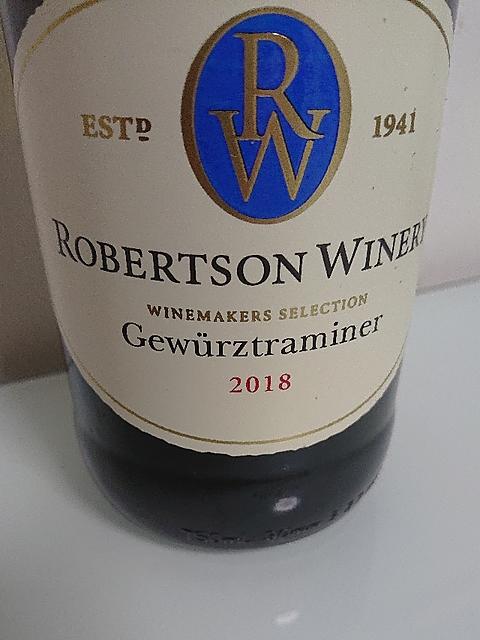 Robertson Winery Gewürztraminer(ロバートソン・ワイナリー ゲヴュルツトラミネール)