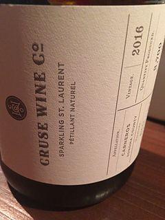 Cruse Wine Sparkling St. Laurent(クルーズ・ワイン スパークリング ザンクト・ラウレント)