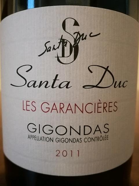 Santa Duc Gigondas Les Garancières