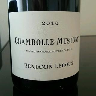 Benjamin Leroux Chambolle Musigny(バンジャマン・ルルー シャンボール・ミュジニー)