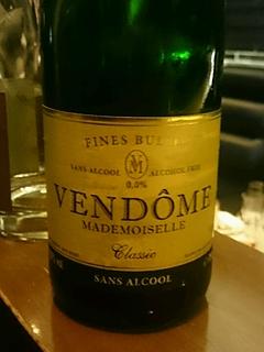 Vendôme Classic (Non Alcohol Sparkling Wine)(ヴァンドーム・クラシック)