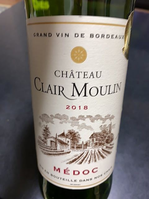 Ch. Clair Moulin(シャトー・クレール・ムーラン)