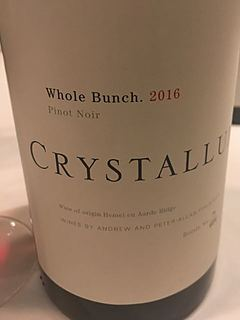 Crystallum Whole Bunch Pinot Noir