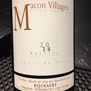 Jean Rijckaert Mâcon Villages