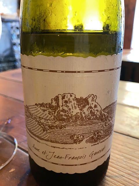 Jean François Ganevat Côtes du Jura La Gravière Chardonnay(ジャン・フランソワ・ガヌヴァ コート・デュ・ジュラ ラ・グラヴィエール シャルドネ)