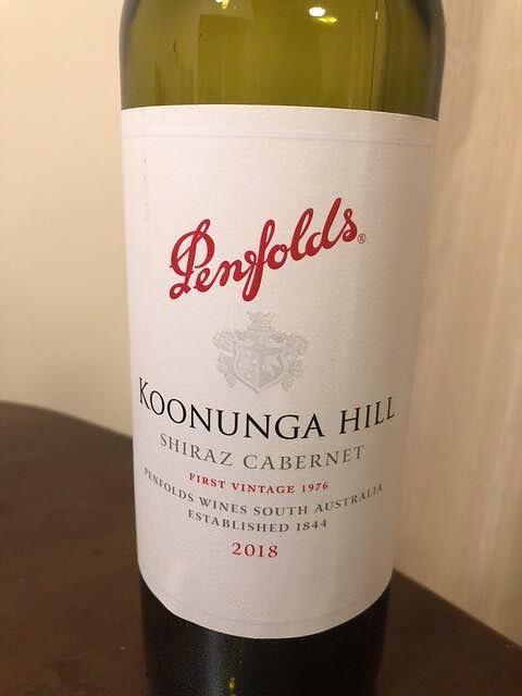 Penfolds Koonunga Hill Shiraz Cabernet(ペンフォールズ クヌンガ ヒル シラーズ カベルネ)