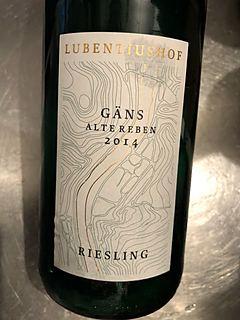 Lubentiushof Riesling Gäns Alte Reben(ルベンティウスホーフ リースリング ガンス アルテ・レーベン)