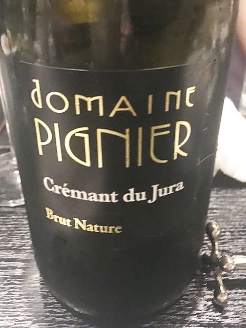Dom. Pignier Crémant du Jura Brut Nature(ドメーヌ・ピニエ クレマン・デュ・ジュラ ブリュット・ナチュール)