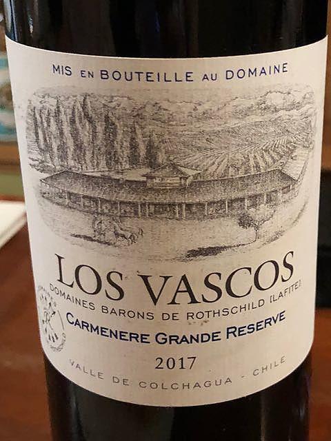 Los Vascos Carmenére Grand Réserve